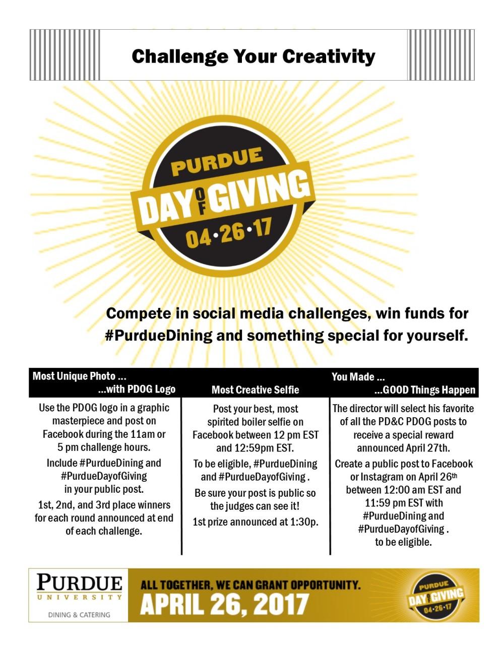 Challenges Flyer 2017